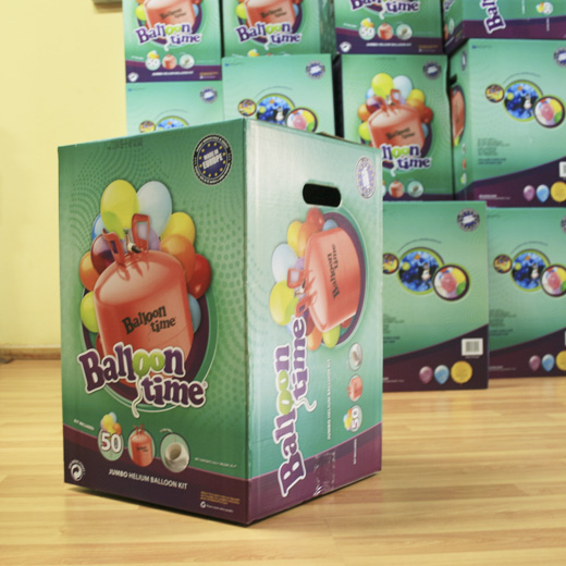 Hélio para 50 Balões (50 balões incluídos)