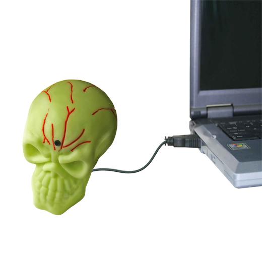 Crânio USB Assustador
