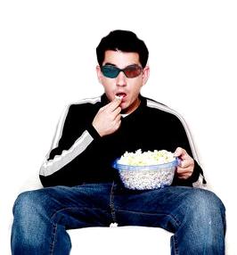 Óculos 3D para TV e Cinema