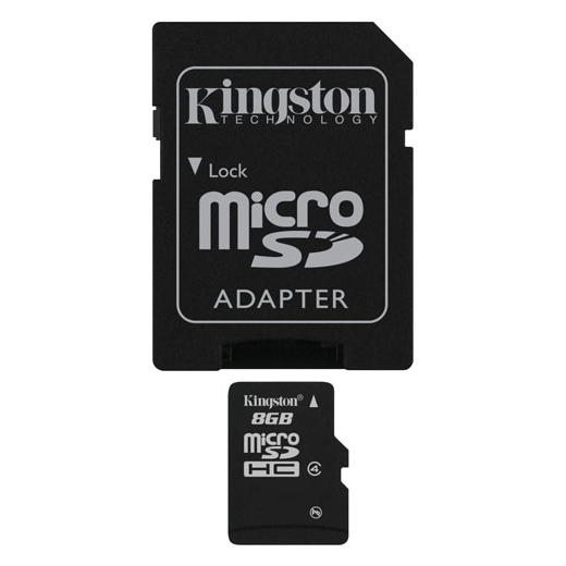 Tarjeta MicroSD c/Adaptador SD