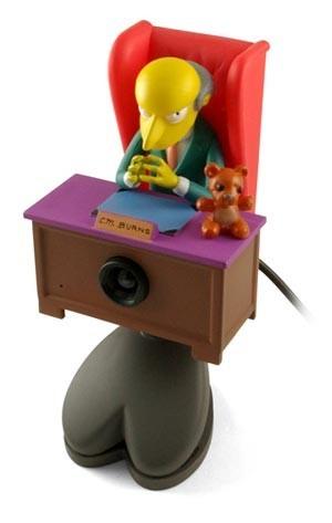 Webcam & Microfone Mr Burns USB