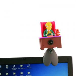 Webcam & Microfone Mr Burns USB