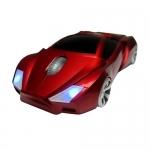 Rato Stealth Vermelho USB
