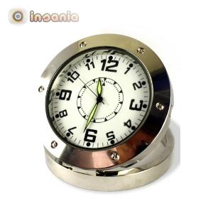 Reloj de Mesa con Cámara Secreta