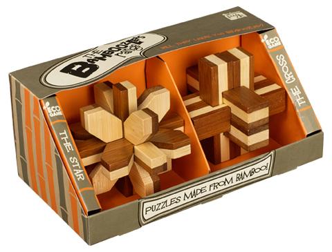 Conjunto 2 Puzzles Bamboozlers
