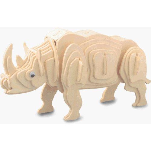 Kit Construção Rinoceronte