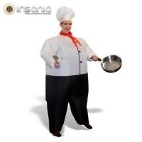 Fato de Chefe de Cozinha Insuflável