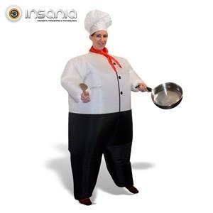 Traje de Chef de Cocina Hinchable