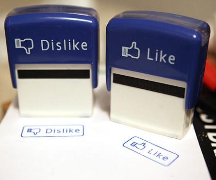 Carimbos Like & Dislike