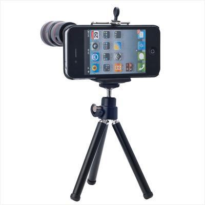 Trípode y Objetivo para el iPhone 5