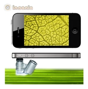 Mini Microscópio para iPhone 4