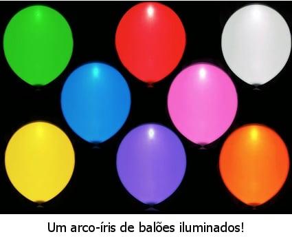 Balões Iluminados iLLoom (Pack 15)