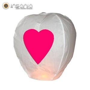 Balão Voador Coração (Pack 5)