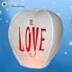 Balão Voador I Love You (Pack 5)