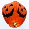 Farolillo Volador Calabaza Halloween (Pack 5)