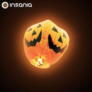 Balão Voador Abóbora Halloween (Pack 5)