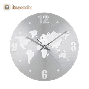 9fbf1d8acfc9 Reloj de Pared Mapa Mundo - Entregas rápidas - Insania
