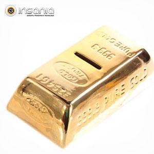 Hucha Lingote de Oro