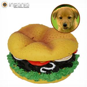 Hambúrguer - Brinquedo para Cão Invotis