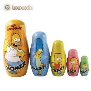 Muñecas Rusas Simpson