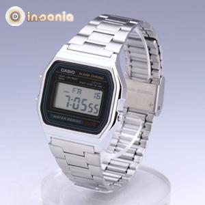 083edb014123 Reloj Casio Retro Plateado - Entregas rápidas - Insania