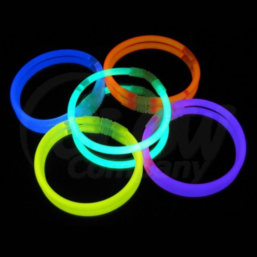 Braceletes Luminosas (Pack 5)