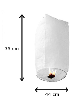 Balão Voador Arco-Íris (Pack 5)