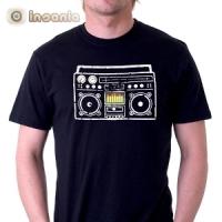 T-Shirt Boombox