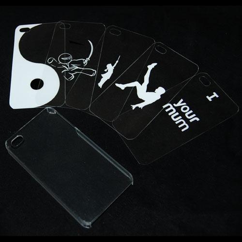 Funda Personalizable para iPhone 4 (Pack 5)