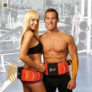 Gymform Dual Shaper - Cinturón Vibratorio y Estimulador