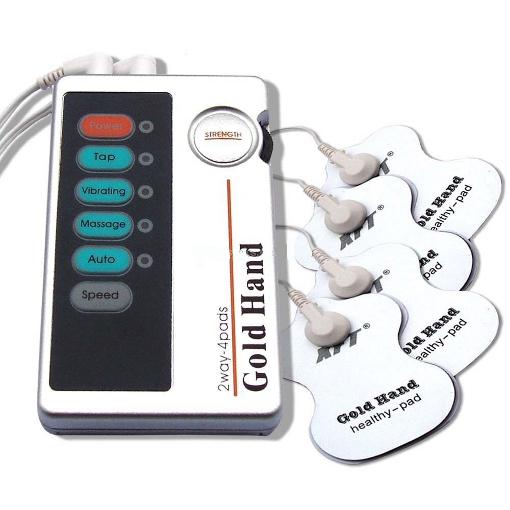 Estimulador Gold Hand 4 Eléctrodos