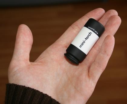 Minilinterna Recargable USB
