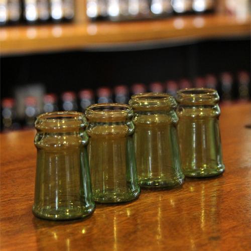 Vasos de Chupito Cuello de Botella (Pack 4)