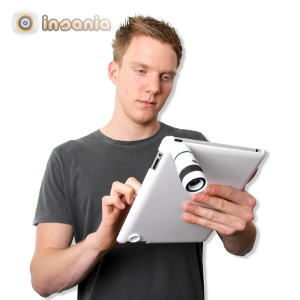 Teleobjetivo para iPad 2