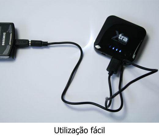 Carregador Portátil Xtra para Telemóveis 2000mAh