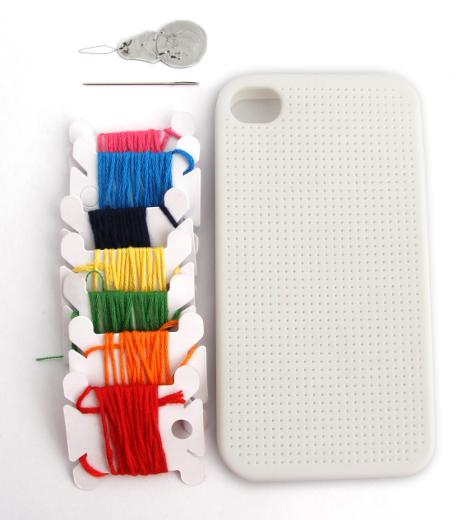 Funda Punto de Cruz para iPhone 4/4S