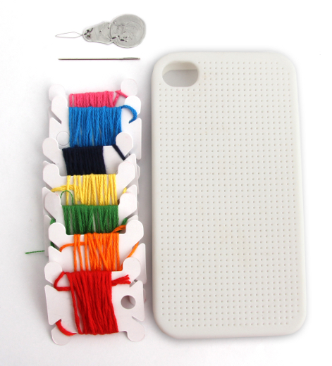 Funda Punto de Cruz para iPhone 4/4S