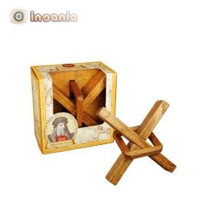 Puzzle Helicóptero - Leonardo da Vinci