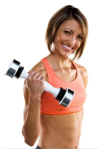 Peso Shake Weight Mulher
