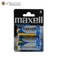 Pilhas Maxell Super Alcalina LR20 XL D (Pack 2)