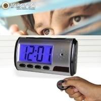 Reloj Despertador Espía Cámara
