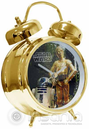 Despertador Star Wars C-3PO y R2-D2