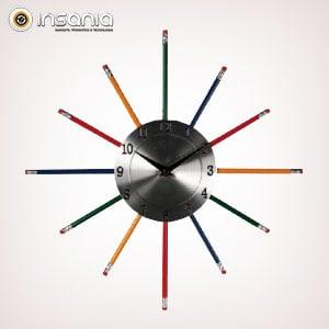 eee25d48b1ff Reloj de Pared Lápiz - Entregas rápidas - Insania
