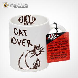 Caneca Mad Mug Amante de Gatos