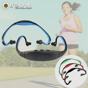 Auriculares Desportivos MP3 4RUN