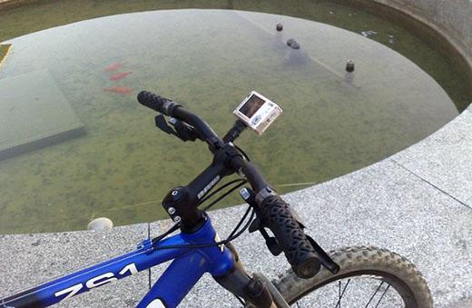 Suporte de Câmaras para Bicicleta/Mota
