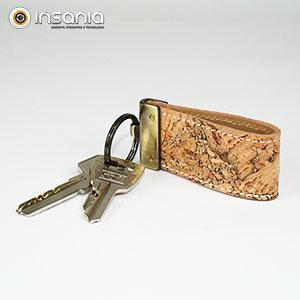 Porta-chaves em Cortiça