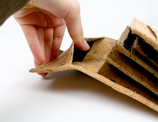 Carteira e Porta-moedas em Cortiça