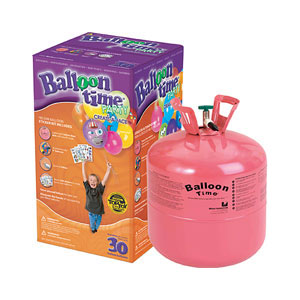 Hélio para 30 Balões + Balões Personalizáveis Caretas