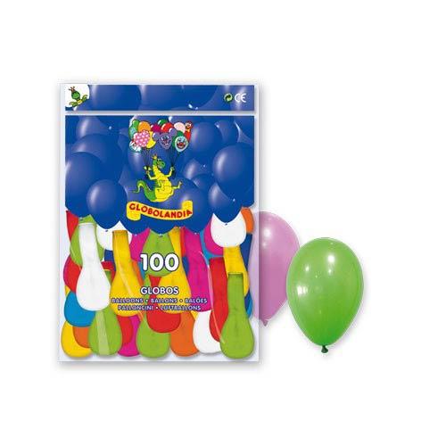 Globos Látex 24 cm (Pack 100)